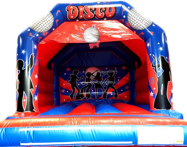 Red and Blue Disco Castle