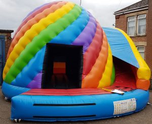 Large Candy Twist Disco Dome and Slide Combo