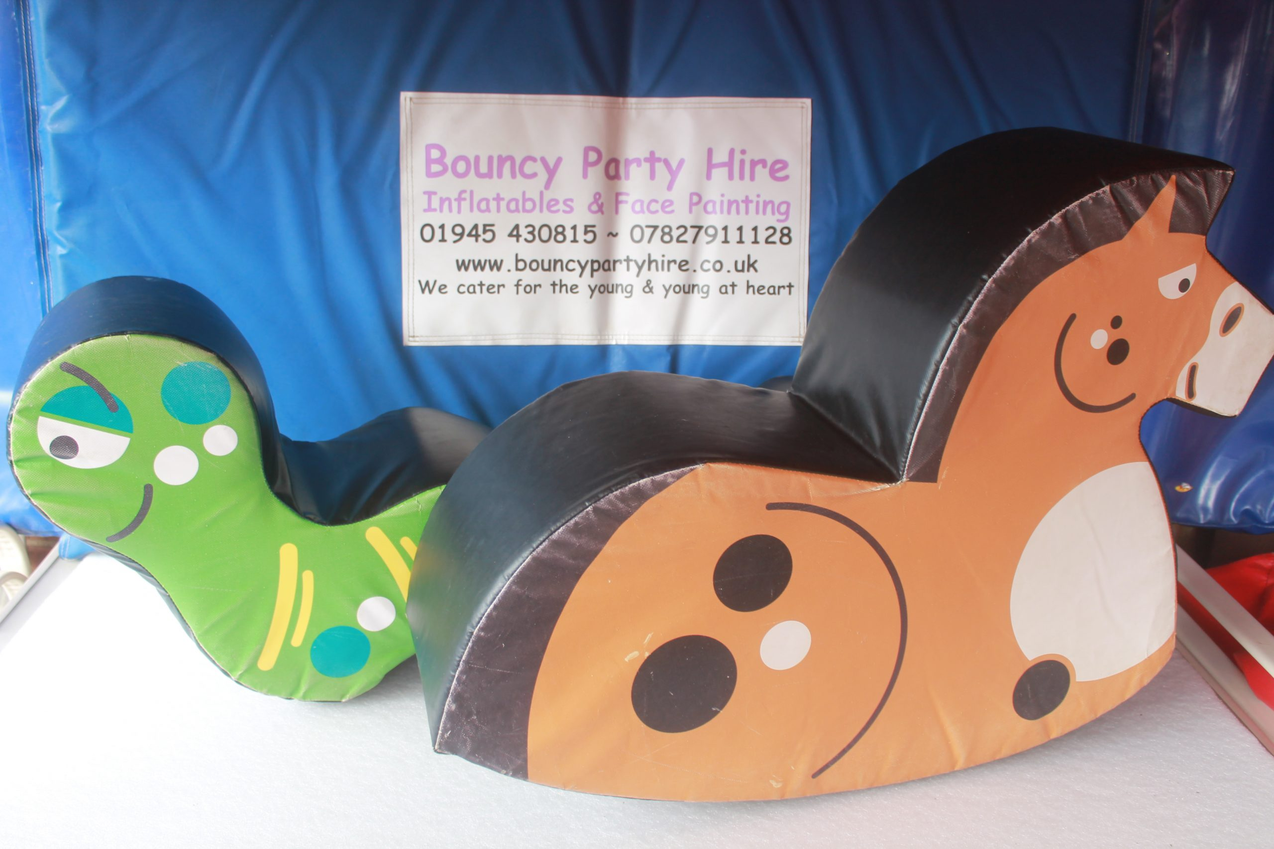 Animal soft play set hire