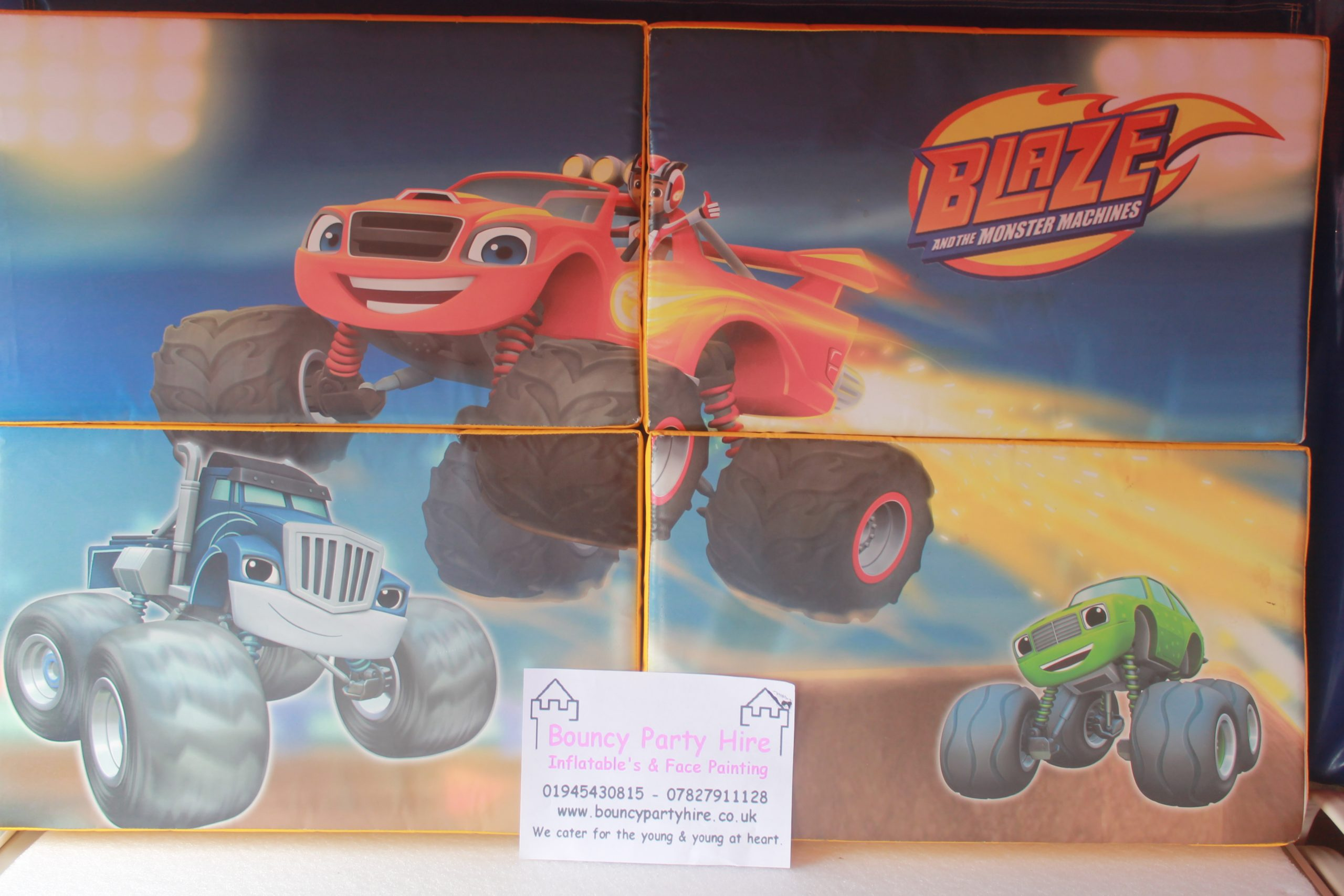 Blaze soft play set puzzle hire
