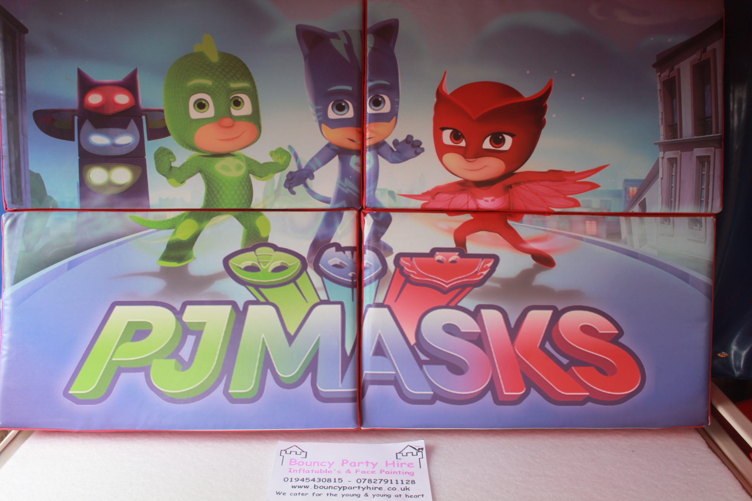 PJ Mask soft play set hire puzzle