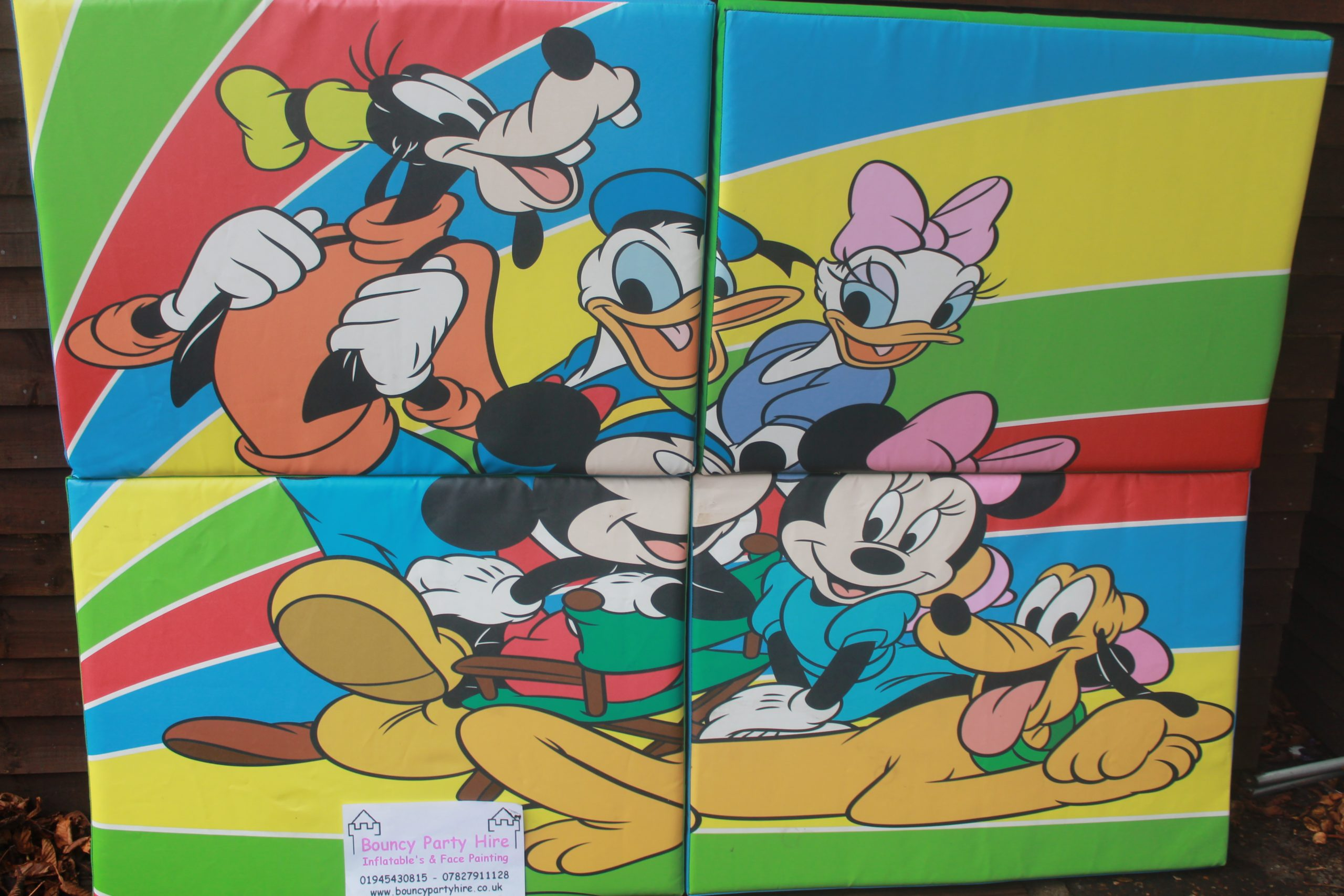 Mickey puzzle soft play set hire