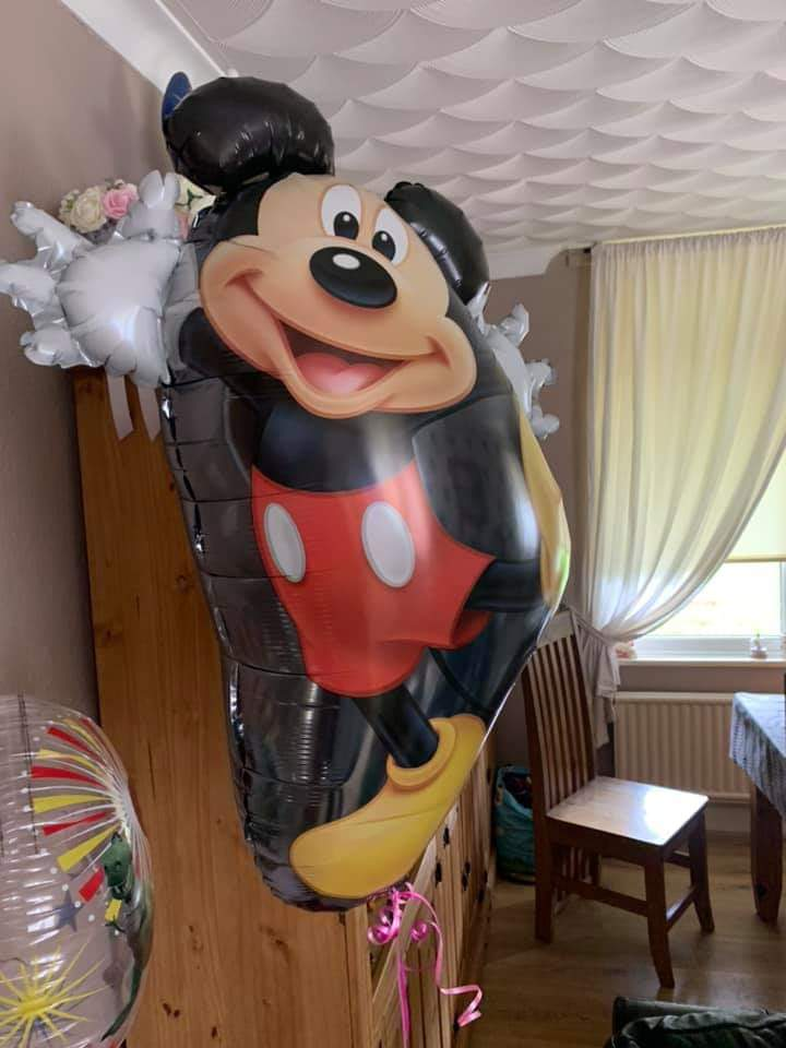 Mickey mouse helium balloon